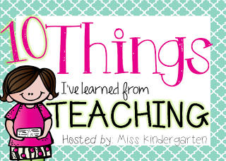 10 Things I've Learned from Teaching