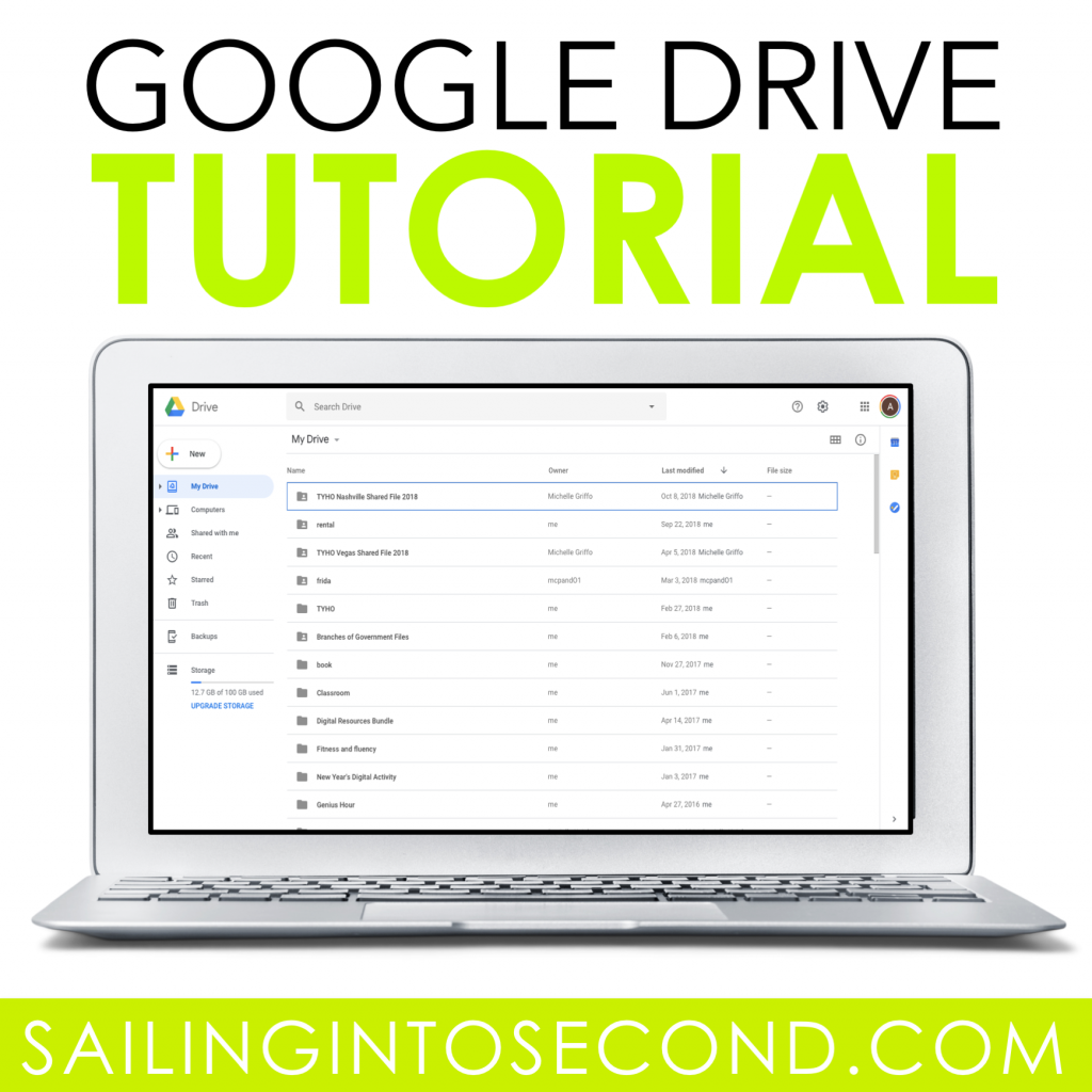 A Google Drive Tutorial - Sailing into Second