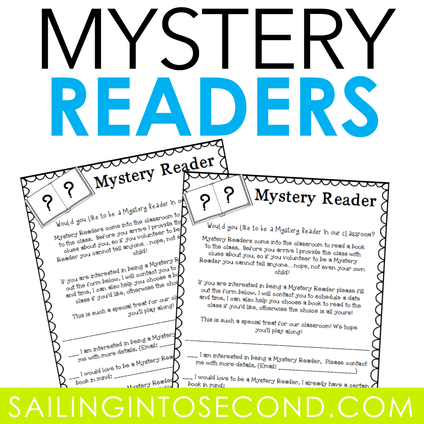 Mystery Reader: Sailing Into Second