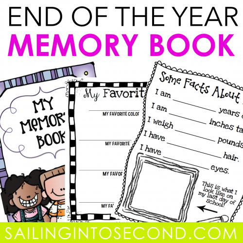 Free End of the Year Memory Book