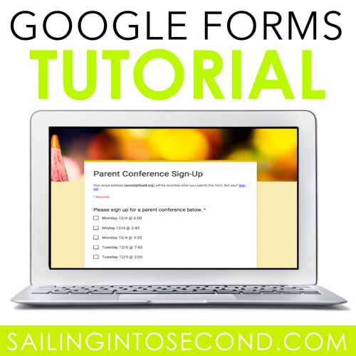 A Google Forms Tutorial