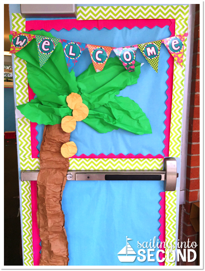 Sailing into Second-classroom reveal