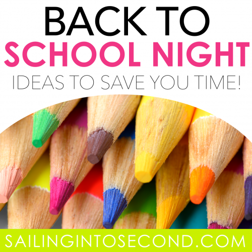 Back to School Night Ideas