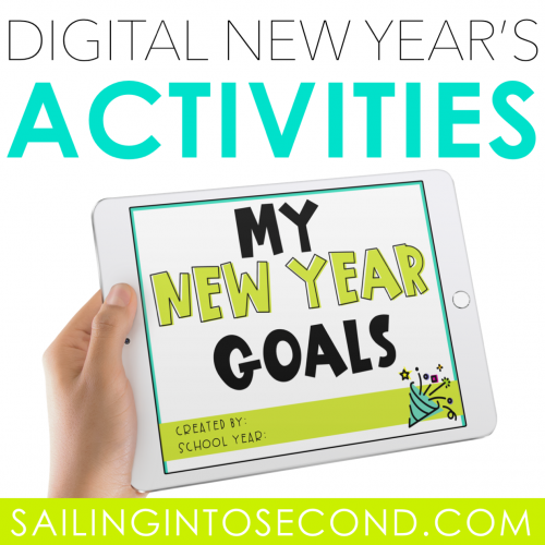 Digital Resource for New Year's Resolutions