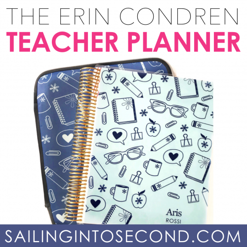 The NEW Erin Condren Teacher Planner