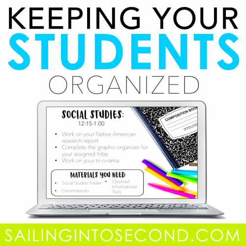 Keeping Your Students Organized!