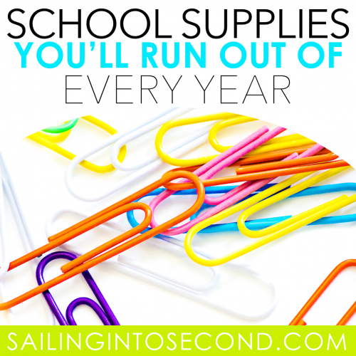School Supplies You'll Run Out of Every Year