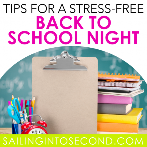 Tips for a Stress-Free Back to School Night