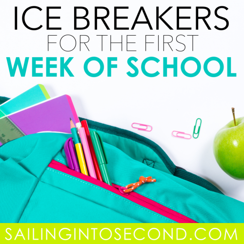 Icebreakers for Back to School