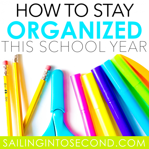 How to Keep Yourself Organized this School Year