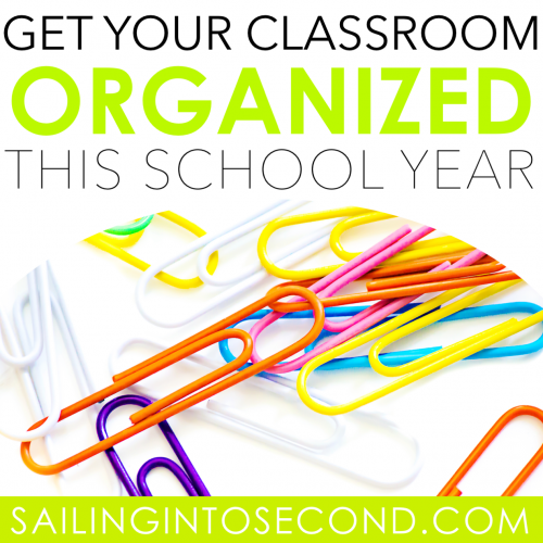 Get Your Classroom Organized this School Year!