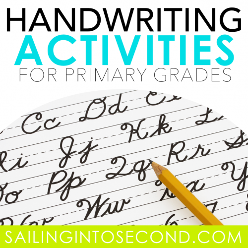 Handwriting Activities for Primary Grades