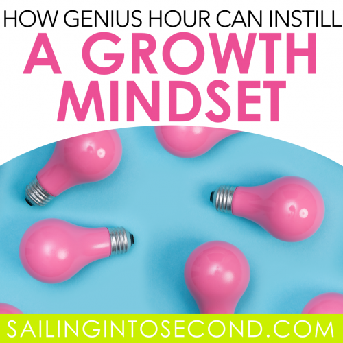 How Genius Hour Can Instill a Growth Mindset