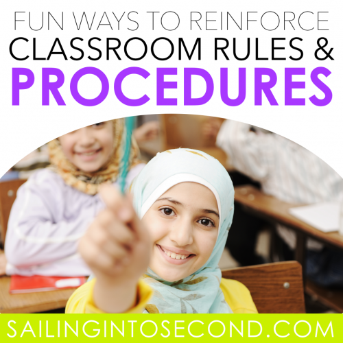 Fun Ways to Reinforce Classroom Rules and Procedures