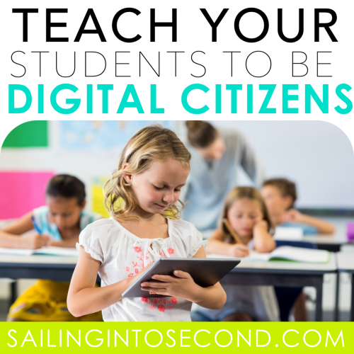 Teach Your Students to be Digital Citizens