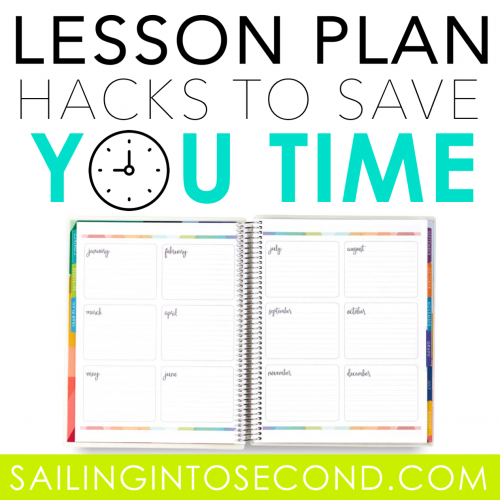 Lesson Planning Hacks to Save You Time