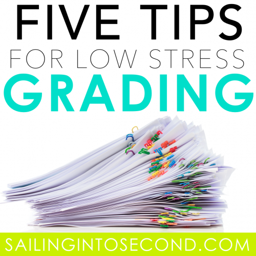 5 Tips for Low Stress Grading