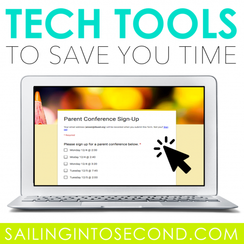 Tech Tools to Save You Time!