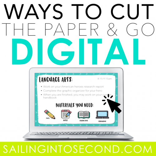 Ways to Cut the Paper and Go Digital