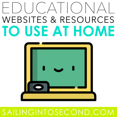 Educational Websites and Resources to Use at Home
