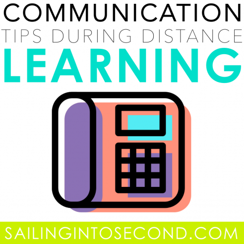 Parent Communication Tips During Distance Learning