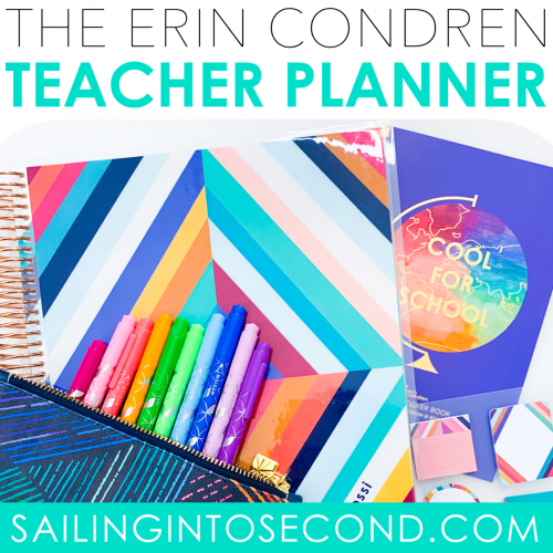 Erin Condren Teacher Planner Sneak Peek