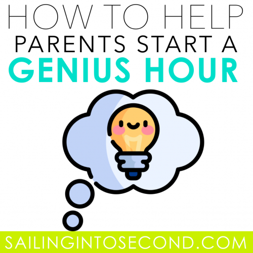 How to Help Parents Start a Genius Hour at Home