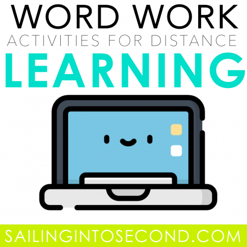 Simple Word Work Activities to Use During Distance Learning