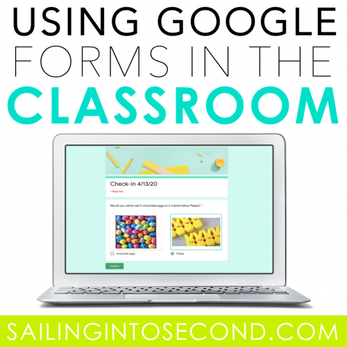 Ways to Use Google Forms in the Primary Classroom