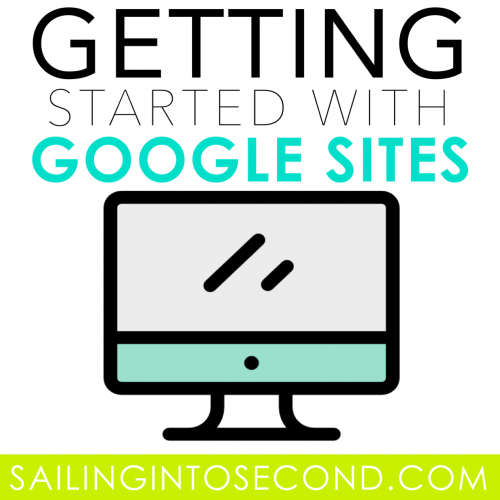 Getting Started with Google Sites