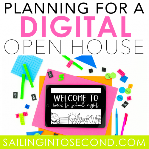 Planning for a Digital Open House