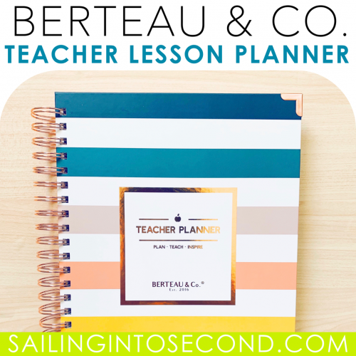 Berteau & Co. Teacher Lesson Planner