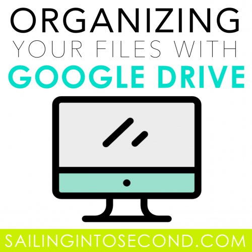 Organizing Your Files with Google Drive