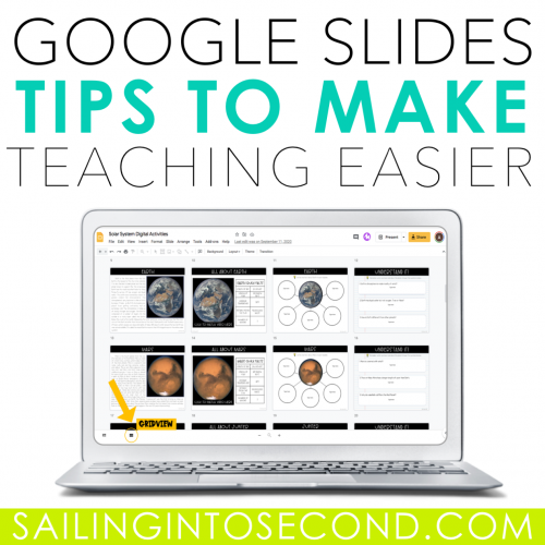 Google Slides Tips to Make Teaching Easier